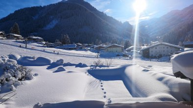 Ausblick vom Balkon im Winter 18, © Aschauerhof