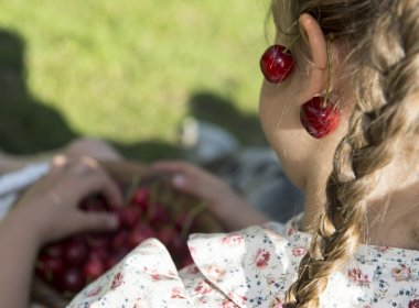 """Mit ihr ist nicht gut Kirschen essen"" – ""The cherries aren't good to eat with her"", or as we would say, ""She's not an easy person to deal with"""