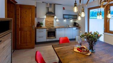 Grinberg Küchenbereich, © Alpen Appartements Mayrhofen