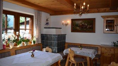 Haus Steinlechner Frühstücksraum