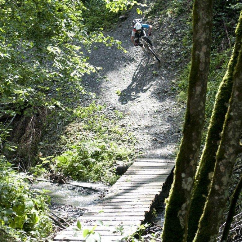 The Fleckalm Trail offers some great riding. , © Tirol Werbung, Michael Werlberger