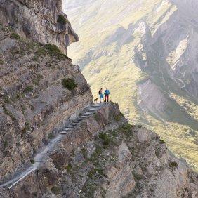 Drischlsteig trail in Hoch-Imst, © Tirol Werbung/Bert Heinzlmeier