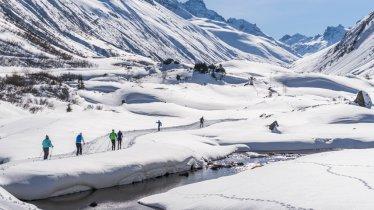 The Bielerhöhe cross-country skiing trail, © TVB Paznaun Ischgl