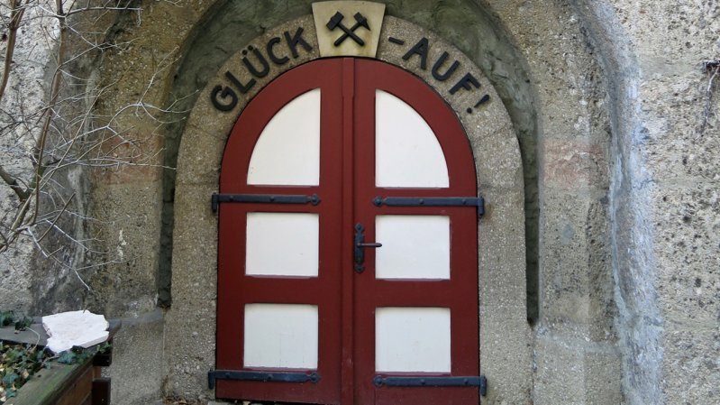 Entrance to the Hall Mining Museum, © Region Hall-Wattens