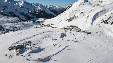 Terrain Park in Kühtai Ski Area, © K-Park Kühtai