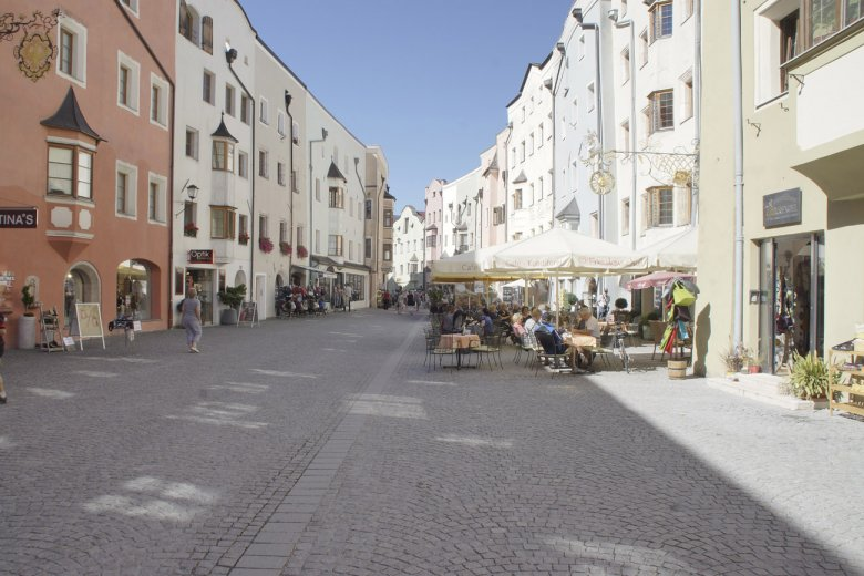The Pedestrianized Center of Rattenberg