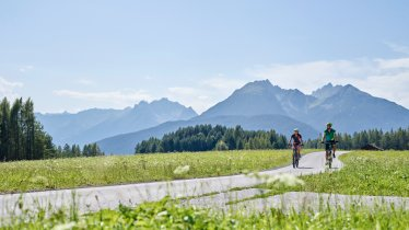 Mountain biking at Mieminger Plateau, © TVB Innsbruck / Christian Vorhofer