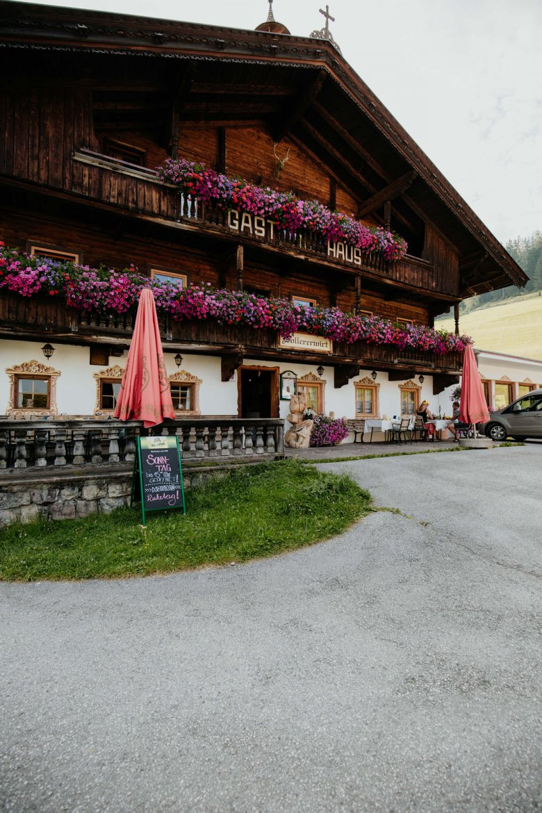 The Sollererwirt guesthouse in Thierbach.