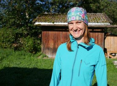 Christine Silberberger from Auffach – the Wildschönau native truly loves her home region.