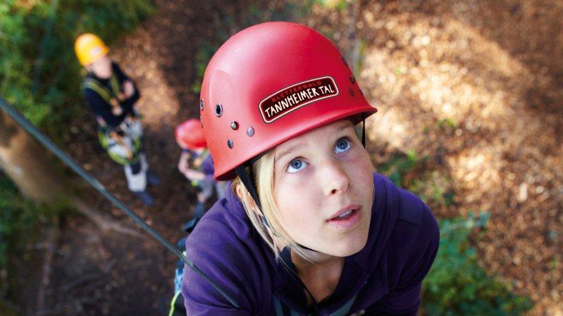 Aerial Forest Adventure Park in Tannheimer Tal Valley, © Tiefblick GmbH