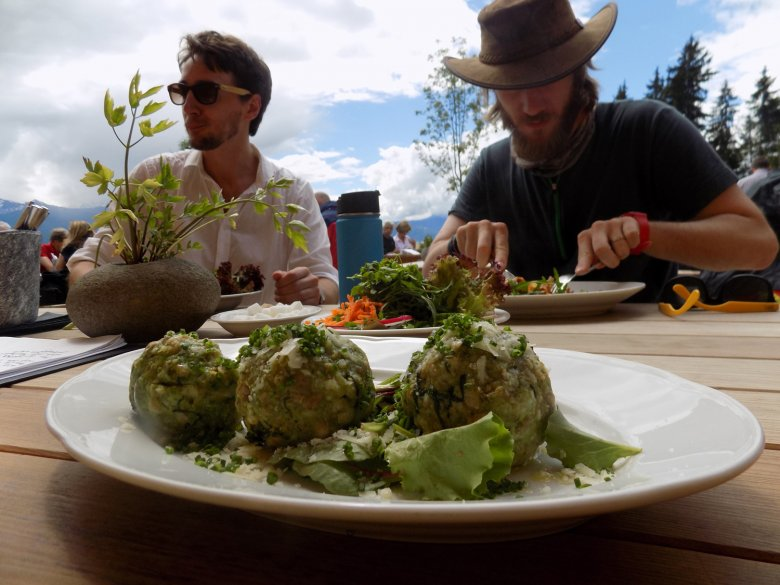 Spinatknödel – A Tirolean must-try