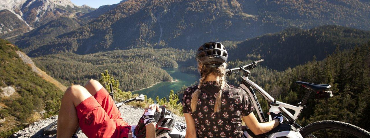 Cycling the Zugspitz Arena, © Tiroler Zugspitz Arena