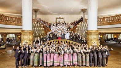 Das Team des Interalpen-Hotel Tyrol, © Interalpen-Hotel Tyrol