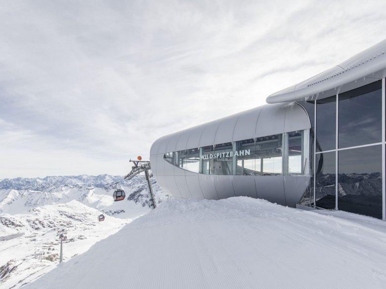 Wildpitzbahn, Pitztal Glacier