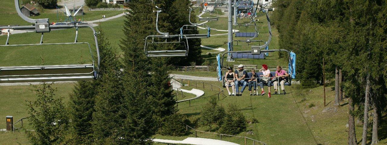 Marienbergbahn chairlift in Biberwier, © Bergbahnen Langes Lermoos Biberwier