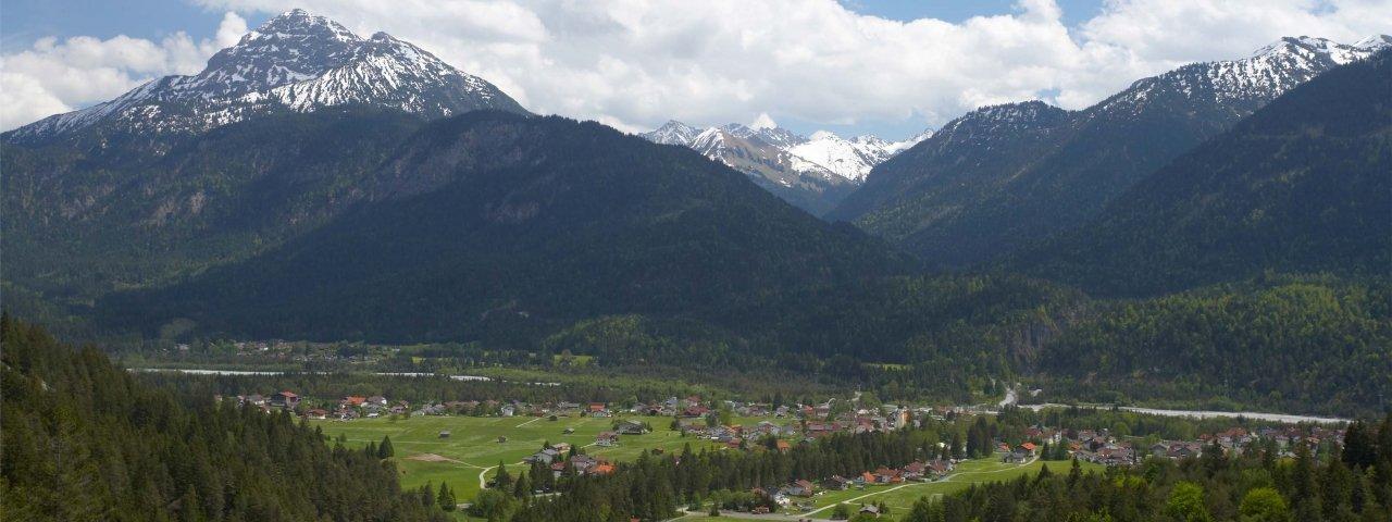 Weißenbach am Lech in summer, © Naturparkregion Reutte