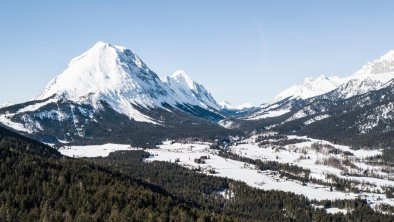 Blick auf Leutasch im Winter, © Olympiaregion Seefeld