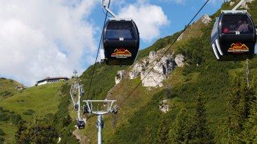 Kreuzjoch cable car in Fulpmes, © Schlick 2000