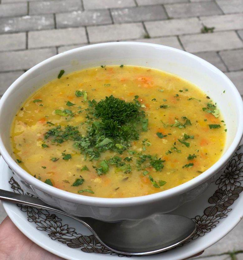 … the mountain lentil soup tastes even better!