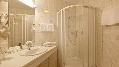 Zimmer 414 Badezimmer