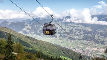 The Spieljochbahn cable car in the Zillertal Valley, © Andi Frank