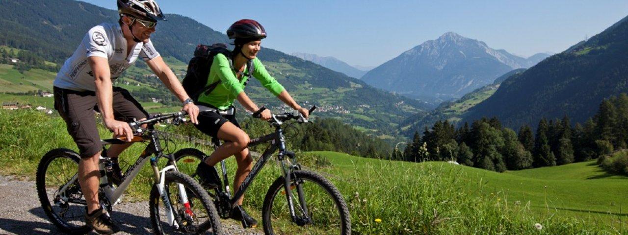 Mountain biking in the Pitztal Valley, © TVB Pitztal