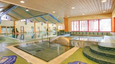 Indoor pool at the Wellnesspark Arlberg-Stanzertal, © Wellnesspark Arlberg Stanzertal