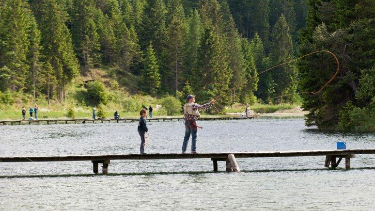 Fishing in Leutasch, © Leutascher Fischerei
