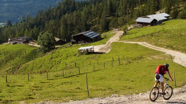 Mountain bike ride around the Unnütz Mountains, © Achensee Tourismus
