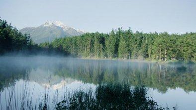 Möserer See mit Blick auf Hohe Munde, © Olympiaregion Seefeld