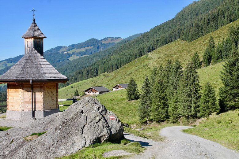 Schönangeralm is trailhead and destination end for a rich variety of wonderful walks and hikes in Inner Wildschönau Valley.
