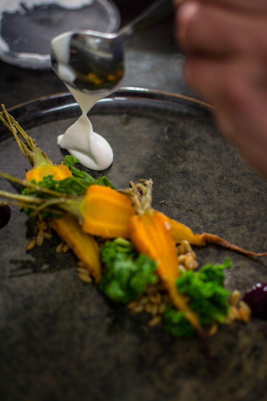 Vegetarian dreams come true at Oniriq in Innsbruck.