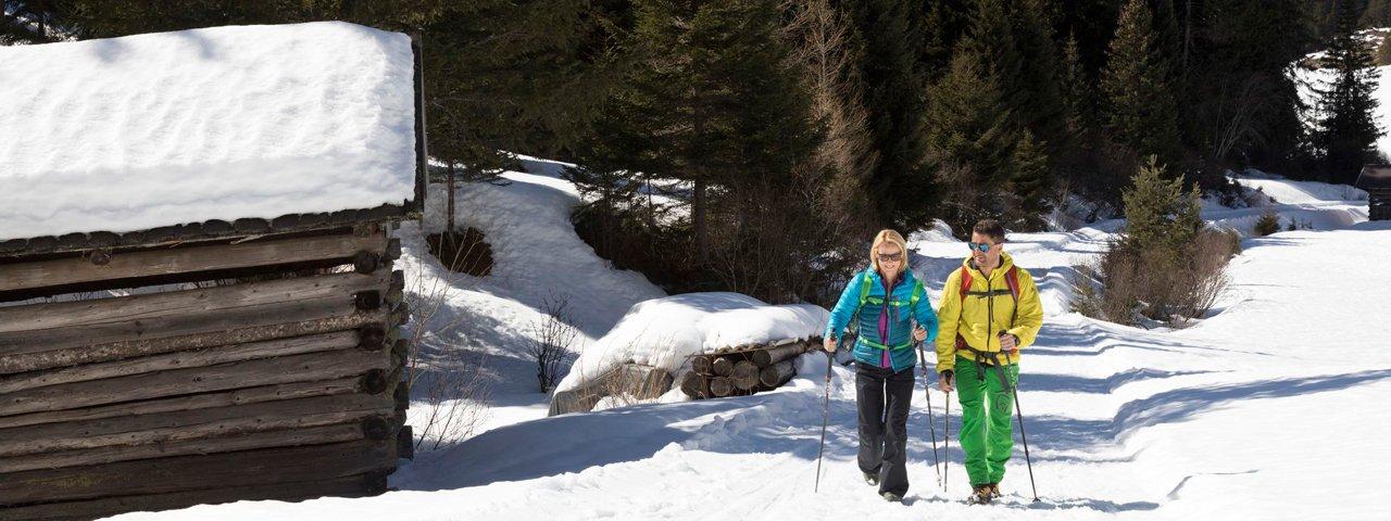 Winter hike to the Zammer Alm hut, © Robert Pupeter