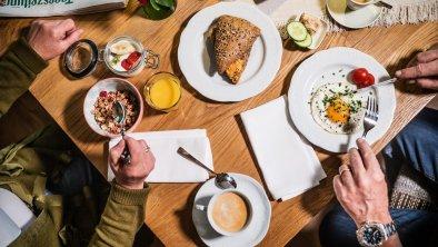 Frühstücken ist immer eine Freude im Halali, © Das Halali