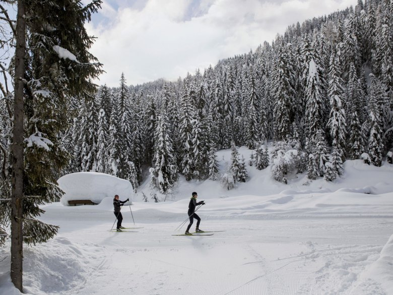 Cross Country Skiing in Obertilliach, Osttirol