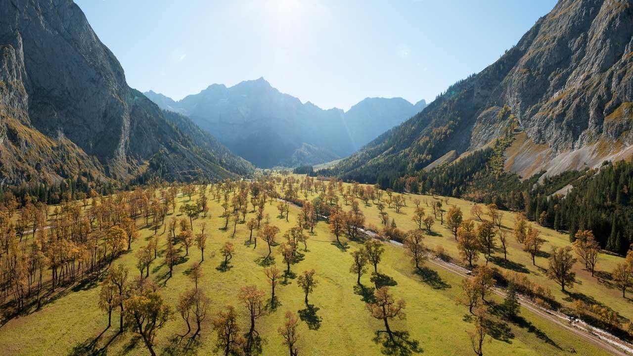Autumn in Tirol: Großer Ahornboden, © Tirol Werbung/Mario Webhofer