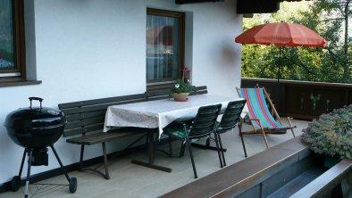 Haus Klammtal Schwendau - Terrasse