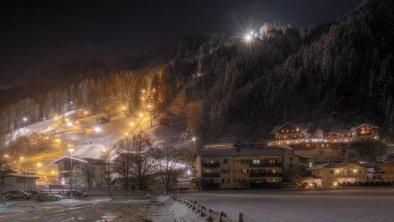 Nachtaufnahme Gallahaus Umgebung