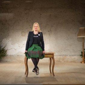 Bernadette Abendstein, co-founder of the Steudltenn theatre, © Tirol Werbung/Bert Heinzlmeier