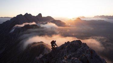 The via ferrata high above Innsbruck, © Tirol Werbung / Frank Stolle