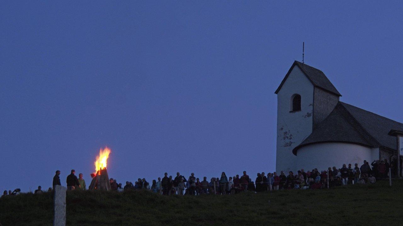 Summer Solstice Fires atop Hohe Salve Mountain, © Kitzbüheler Alpen - Ferienregion Hohe Salve