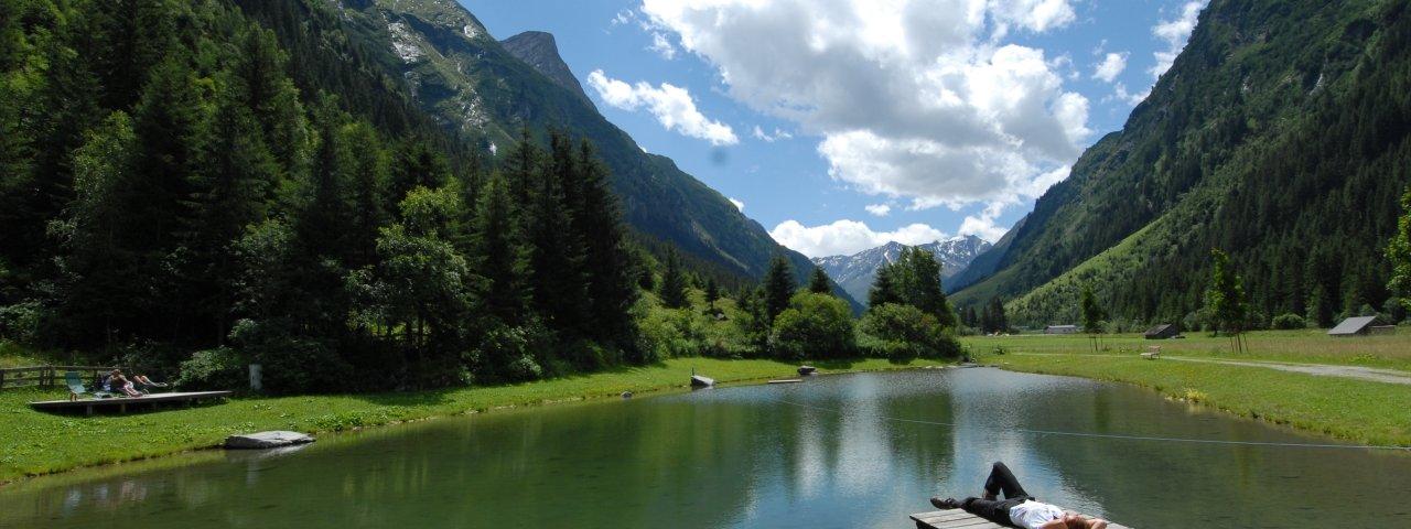 Badesee Stillebach, © Ferienregion Pitztal