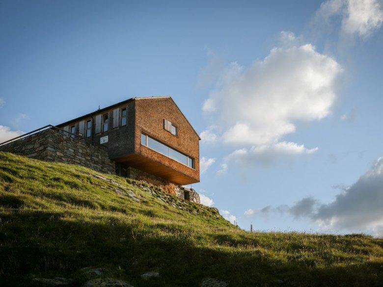 Olpererhütte Hut.