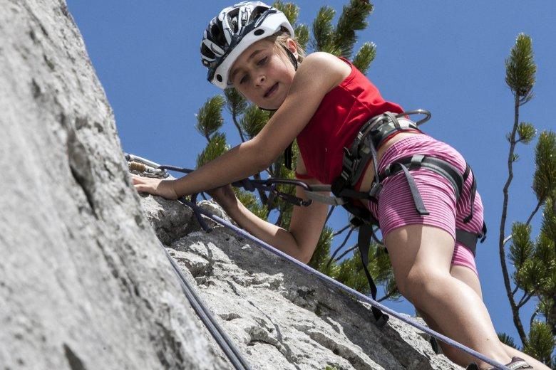Rock climbing at Wilder Kaiser Mountain Range. Photo Credit: Roland Muehlanger