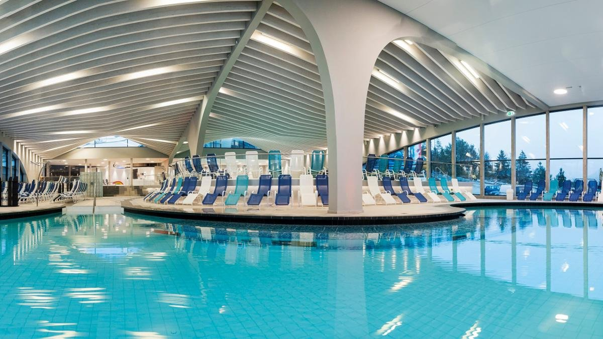 The Stubay leisure centre opened in 2014 and includes an adventure pool and a selection of different saunas – the perfect way to relax after a long day out and about in the mountains., © Christoph Ascher