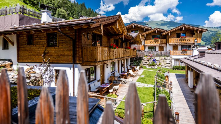"""""""Anno Dazumal"""" Alpine Lodges in Lanersbach, © Ulrich Schepp"""