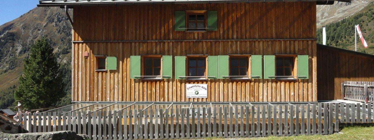 Schweinfurter Hütte, © Tirol Werbung/Ines Mayerl
