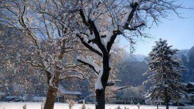 Der Garten im Winter, © Familie Moigg