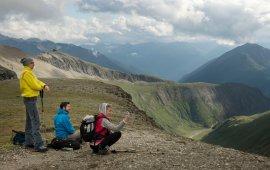 Hiking Tour from Kalser Tauernhaus to Stüdlhütte Hut on foot of Großglockner Mountain, © Tirol Werbung/Frank Bauer