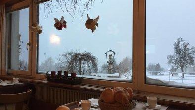 Haus Lukas Mösern Frühstücksraum